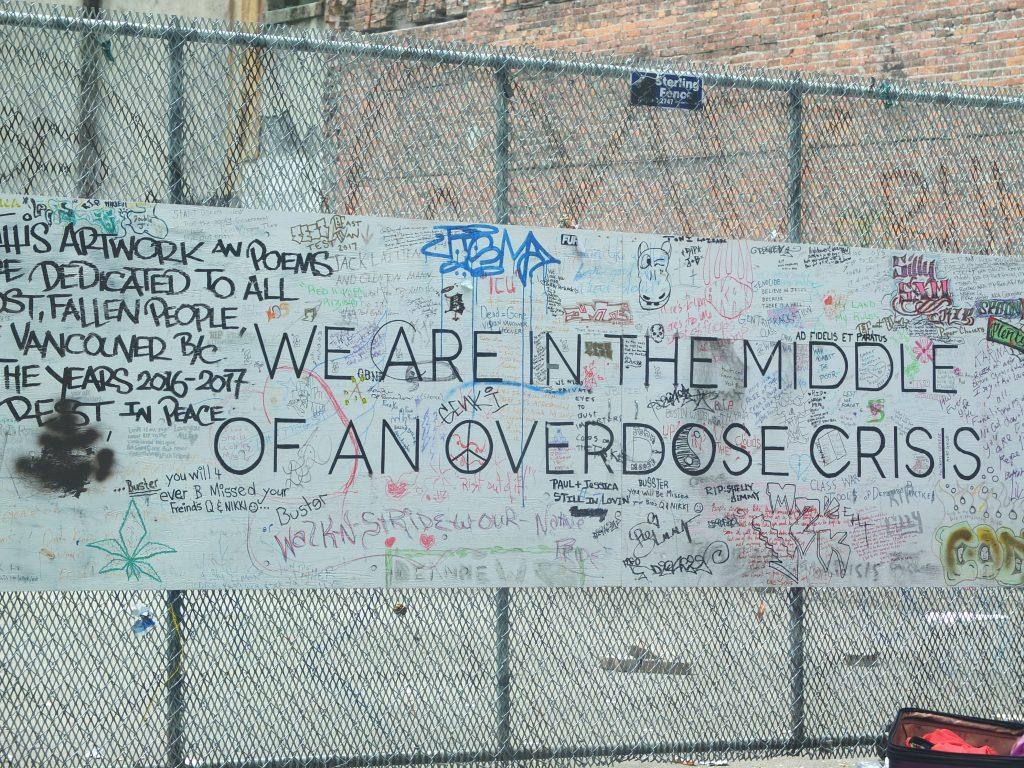 Overdose grafitti