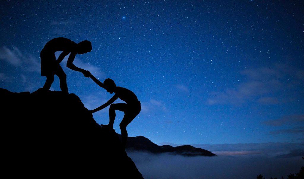 mentor, climbing