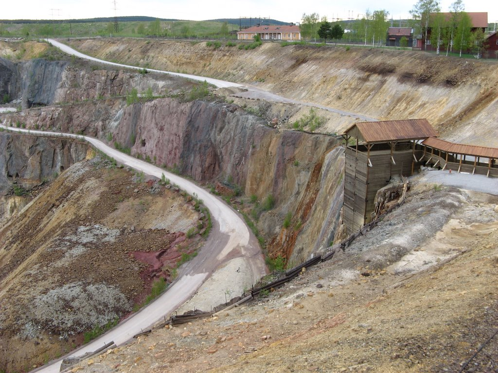 Falun was mined for copper for over 1000 years